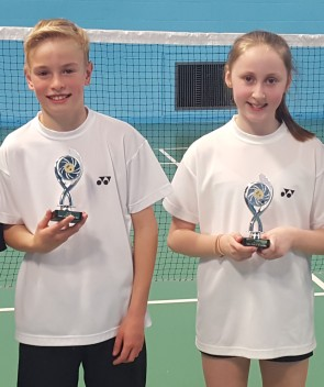 U13 mixed 2016 luke and tamsin