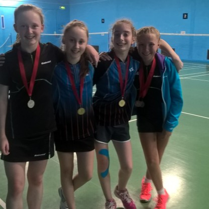 Eve, Tamsin, Jess & Sophie