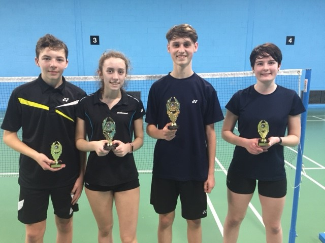 U18 Mixed Doubles Winners & Runners Up