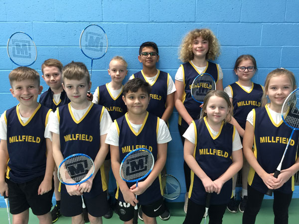 Primary Schools County Competition Round 3 winners – Millfield Academy